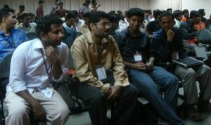 Anish Chandran, Juwal Bose, Me and Anand at Amrita Fooster 2009