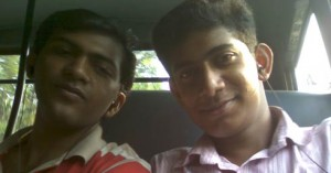 With Vineeth Wilson in Bus