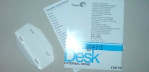 Seagate FreeAgent Desk Stand and Manuals