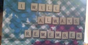 I will Always Remeber