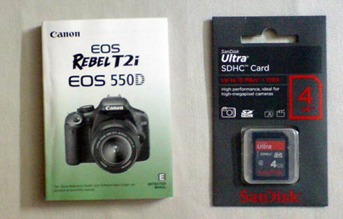 Canon 550D - Which SDHC memory card?: Canon Rebel (EOS ...