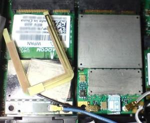 Option GTM 378 HSPDA After Installation