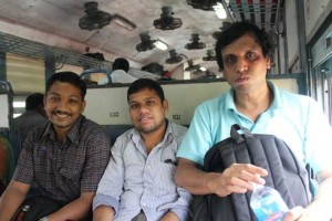 Praseed and Co in Train