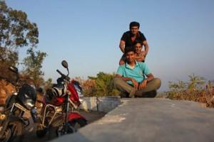 Sajay Aswin and Me (top to bottom)