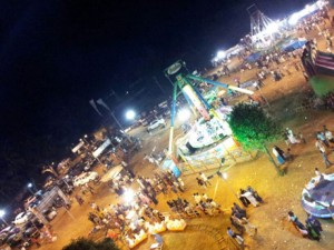 View From Up In The Air - On The Giant Wheel