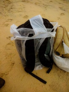 Rain Proofing of Backpacks