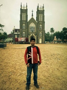 Me In Front of Arthunkal Church