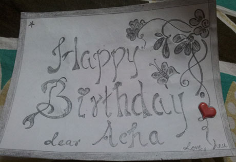 Happy Birthday Acha!