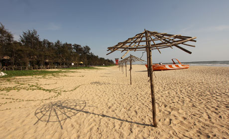 A Deserted Afternoon. At Panambur Beach, Mangalore
