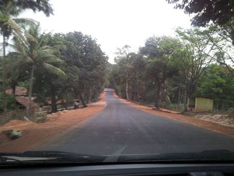 The Road From Davangere to Mangalore