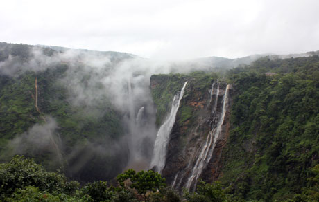 View From The Top, Jog Falls, Karnataka