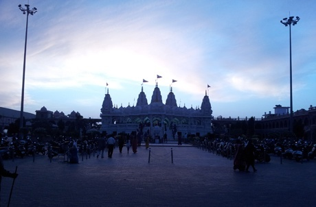 Swaminarayan Temple At Bhuj. I Lived In Their Dharamsala While I Was There