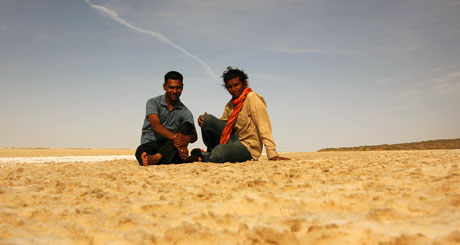 Chilling With Rajesh Patel, The Forest Office On The Salt Dessert.