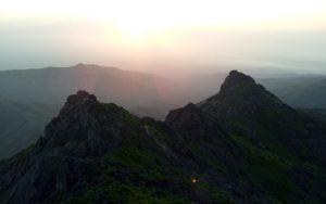 Sunrise in Girnar