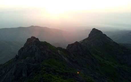 Sunrise in Girnar