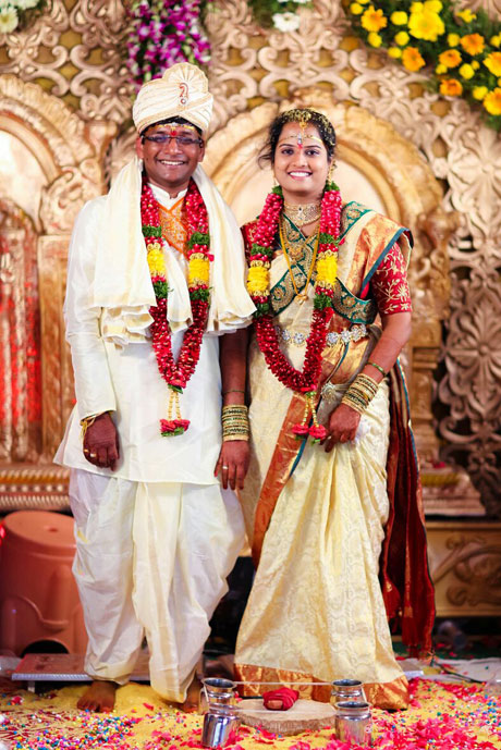 Lucky And Rajyalakshmi Husband And Wife