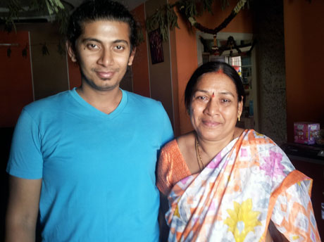 With Padma Aunty Student And Teacher