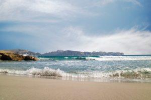 Waves On A Beach